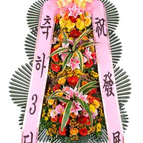 축하화환3단(축복5호)