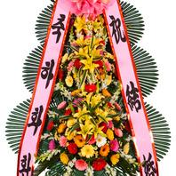 축하화환3단 특(축복7호)